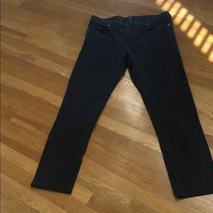 Mens Dark gray H&M 5 pocket chino pants